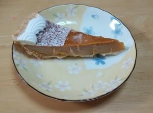 コストコ,ケーキ,パンプキンパイ,ハロウィン,かぼちゃ2