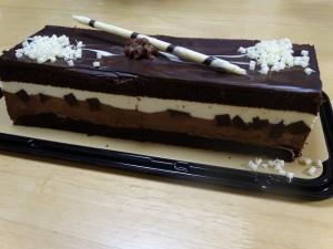 コストコ,タキシードケーキ,クリスマス,チョコレート
