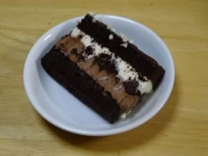 コストコ,タキシードケーキ,クリスマス,チョコレート2