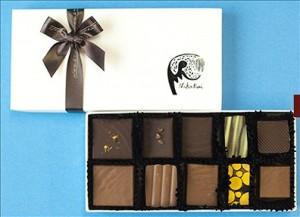 バレンタイン,大阪,チョコレート,なかたに亭,ショコラ