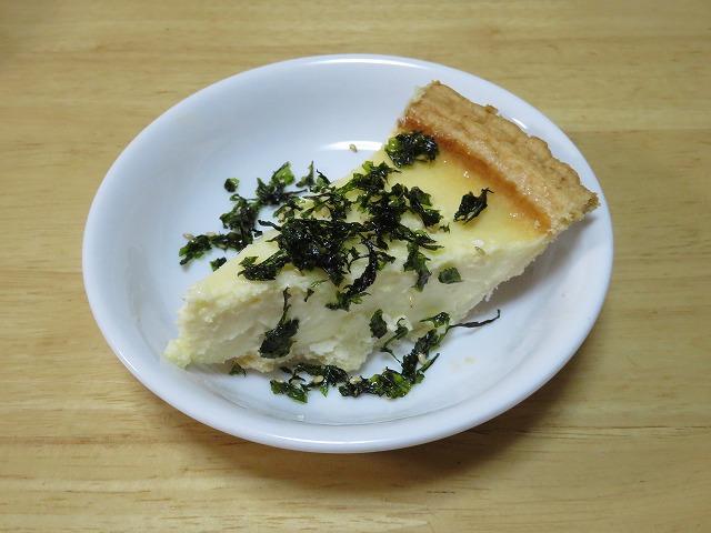 コストコ,トリプルチーズタルト,ケーキ,チーズケーキ,レビュー,評価,韓国のりフレーク2