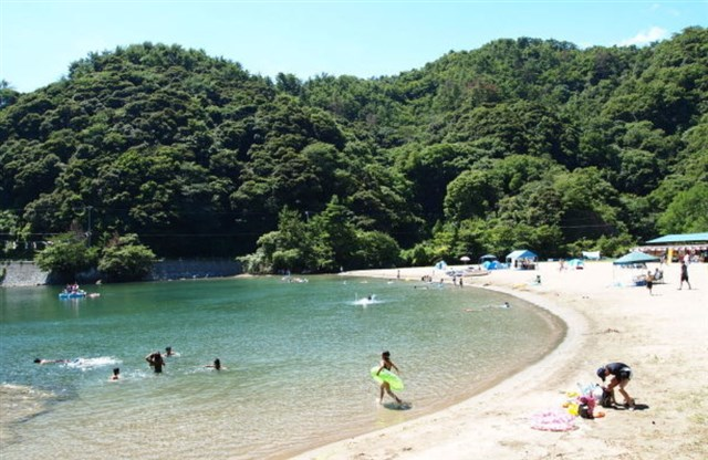 三田浜海水浴場