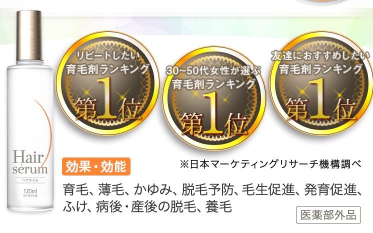 Hairserum(ヘアセラム),受賞