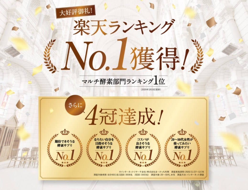 キラリ麹の炭クレンズ生酵素,受賞
